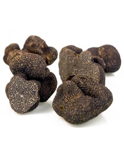 Morceaux de Truffes noires fraîches - Tuber Mélanosporum Truffes Fraîches, Espèce truffe, Frais Tuber Melanosporum image